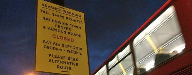 Woolwich Road, 30 August 2014