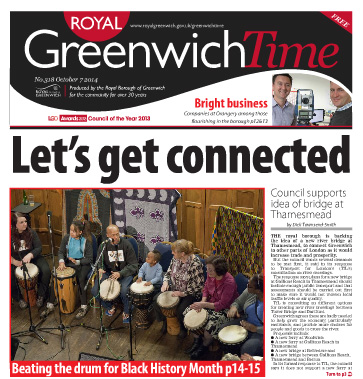 Greenwich Time, 7 October 2014