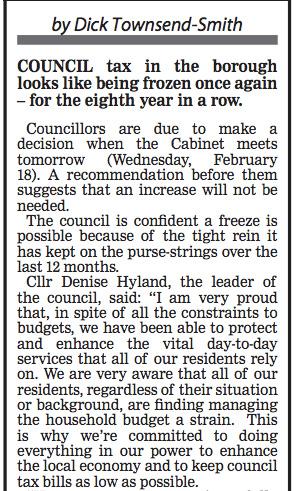 Greenwich Time, 17 February 2015