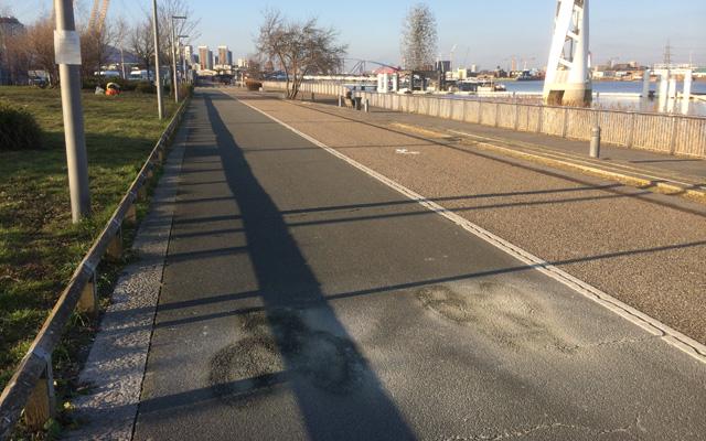 Thames Path, 9 February 2015