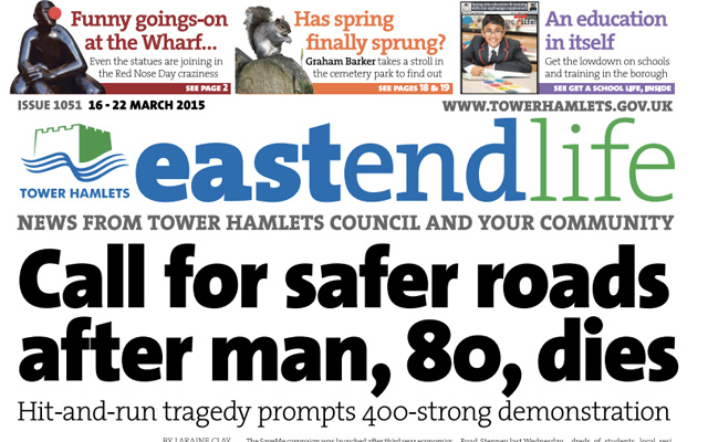 Tower Hamlets' East End Life is the only other weekly council newspaper. Its fate lies with the council's commissioners.