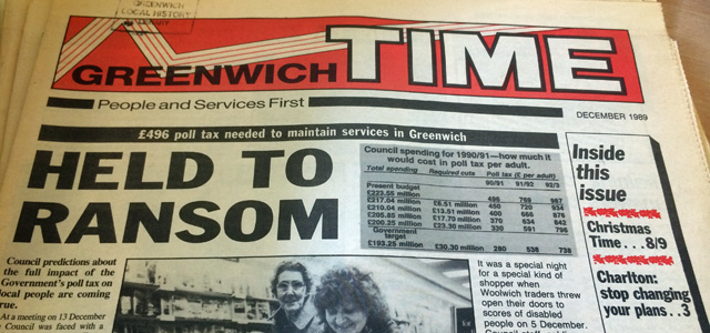 Greenwich Time, December 1989