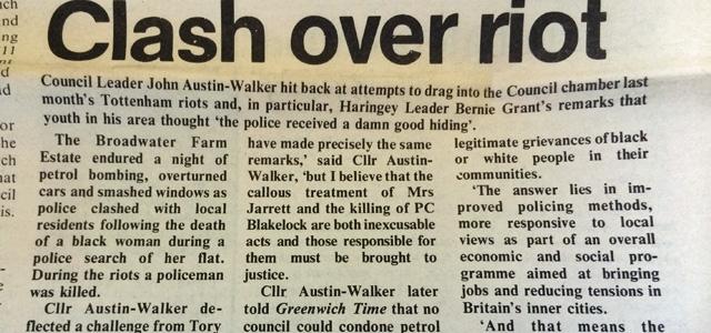 Greenwich Time, 1985