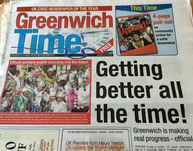 Greenwich Time, 2004