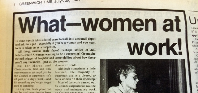 Greenwich Time, July 1984