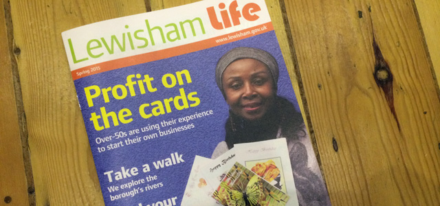 Labour-run Lewisham Council gets by on four editions of Lewisham Life each year.