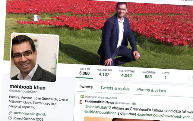 Mehboob Khan's Twitter feed