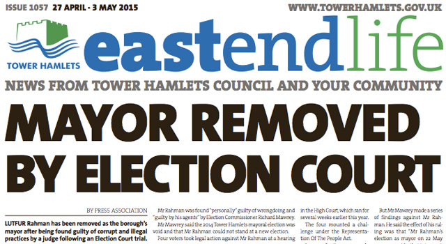East End Life, 27 April 2015