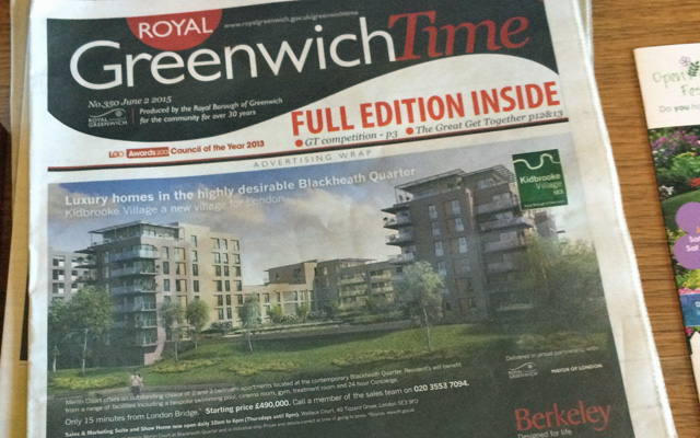 Greenwich Time, 2 June 2015