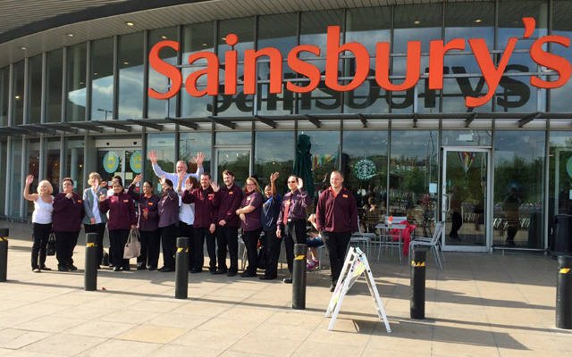 Greenwich Sainsbury's, 24 June 2015