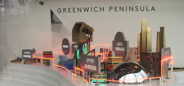 Greenwich Peninsula developers' pavillion