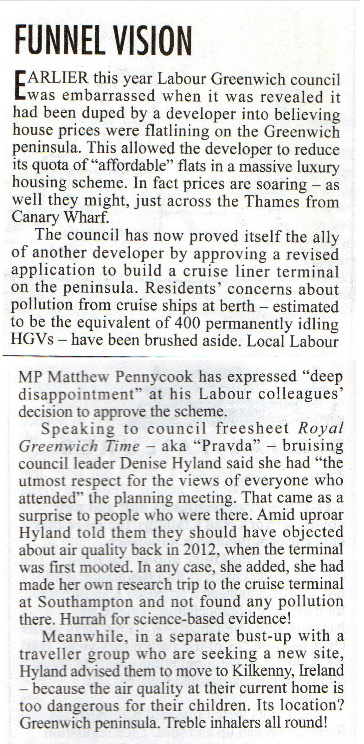 Private Eye, 21 August 2015
