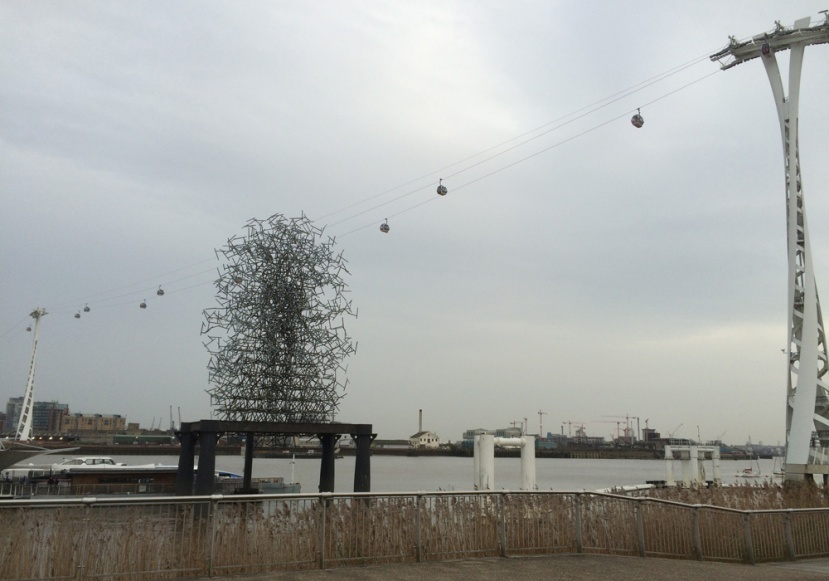 Greenwich cable car, 18 December 2015