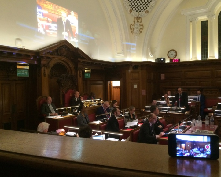 Greenwich Council chamber