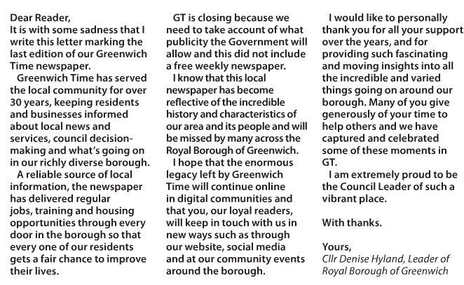 Greenwich Time, 27 June 2016