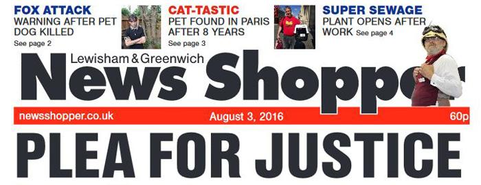 News Shopper, 3 August 2016