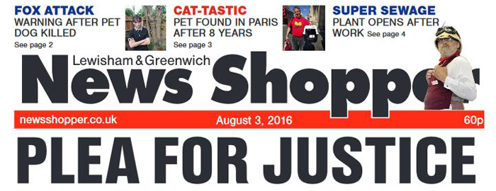 News Shopper, 3 August 2016