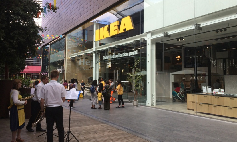 Ikea Stratford City, 31 August 2016
