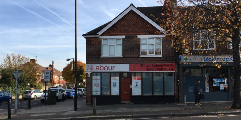 Eltham Labour offices, 3 November 2016