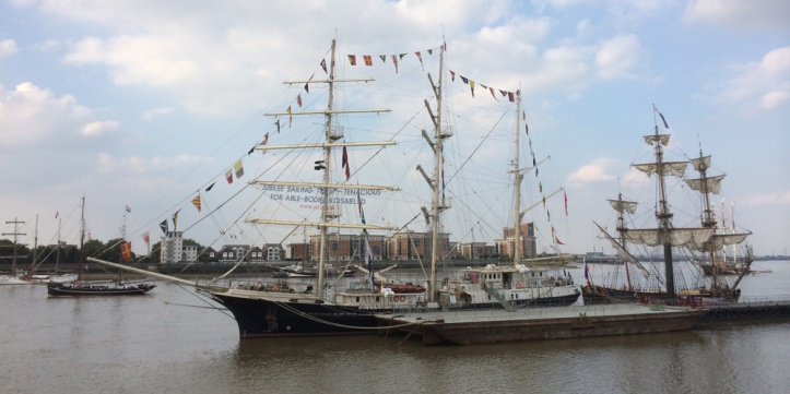 Greenwich Council says 2014's Tall Ships festival brought 1.1 million people to Greenwich and Woolwich