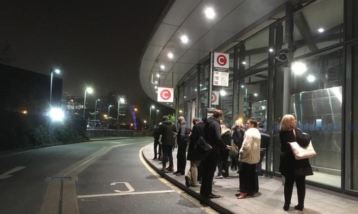 North Greenwich bus station, November 2016