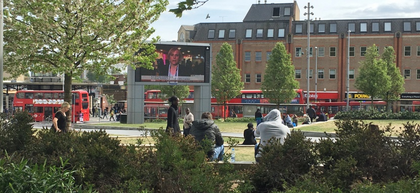 Woolwich town centre, 15 April 2017