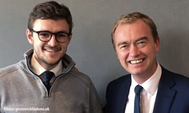 Chris Adams and Tim Farron