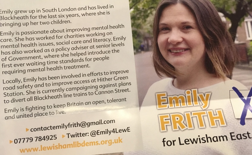 Emily Frith election address