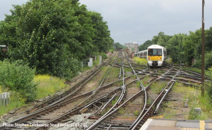 Lewisham station by Stephen Colebourne