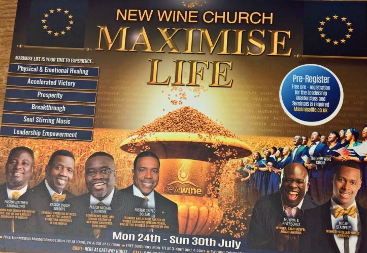 Maximise Life flyer