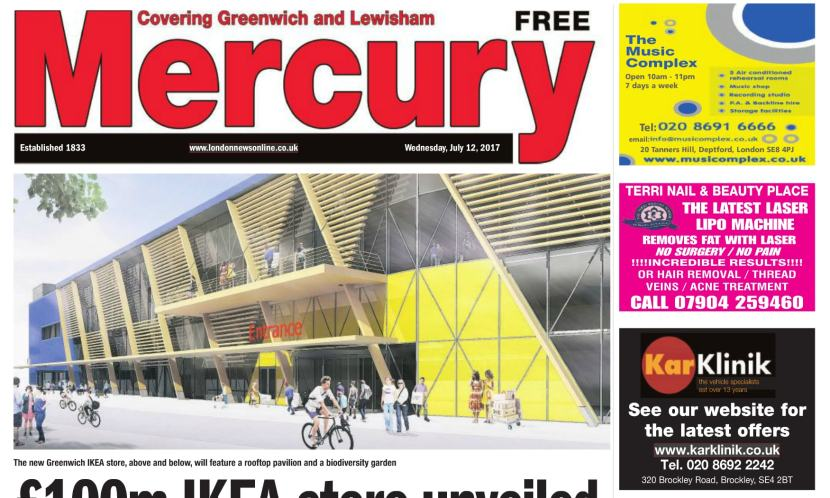 Greenwich and Lewisham Mercury