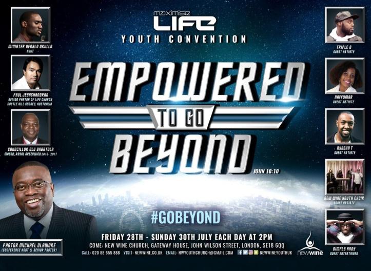 Maximise Life event advertisemet