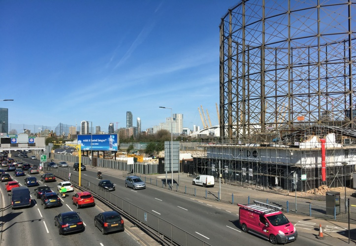 Blackwall Tunnel approach