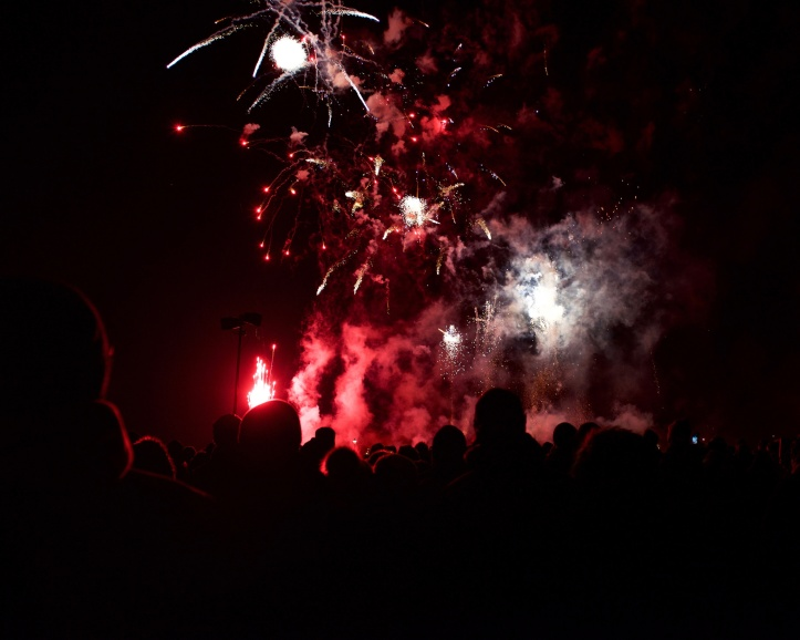 Blackheath Fireworks display 2016