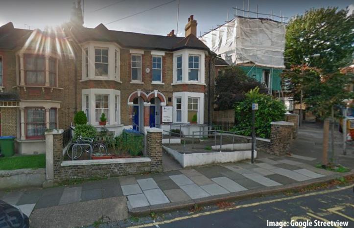 Greenwich Mind's office in Ormiston Road, Greenwich