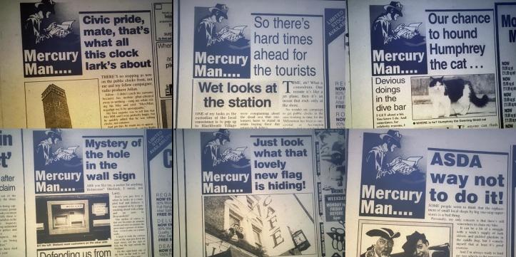 Mercury Man columns, 1997