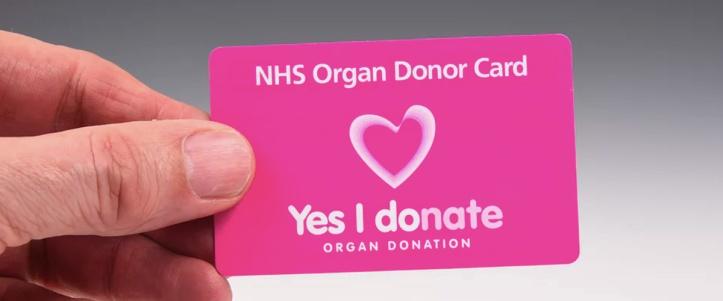 Organ donor cards
