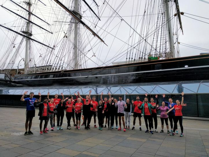 Greenwich GoodGym at the Cutty Sark