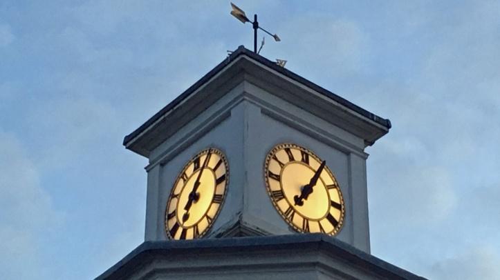 Gibb memorial clock