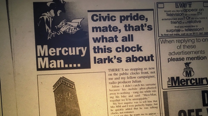 Mercury newspaper, 1997