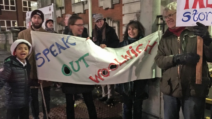Speak Out Woolwich