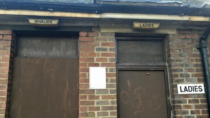 Slade toilets, Plumstead