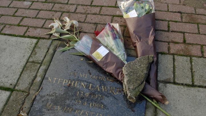 Stephen Lawrence memorial, Eltham