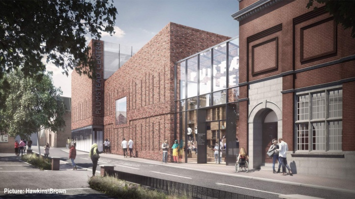 Plans for Plumstead library