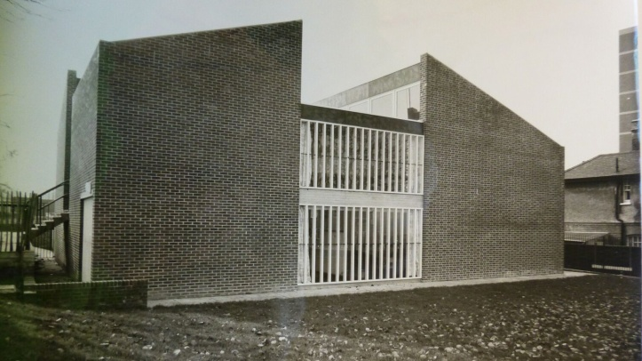 The Grove Park Youth Club shortly after opening