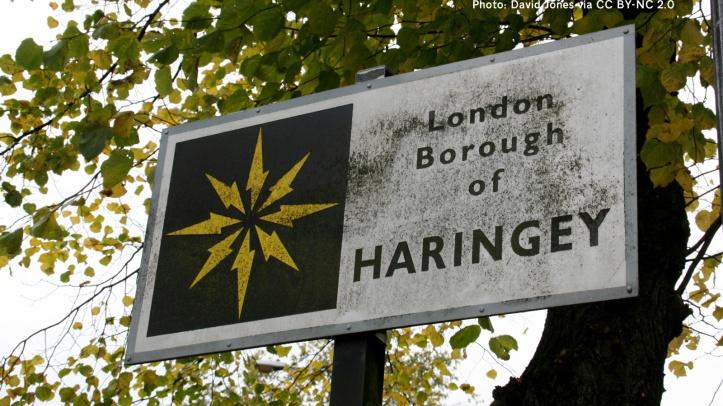Haringey borough sign