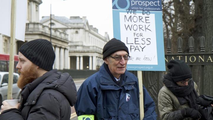 Royal Museums Greenwich strike, 1 January 2018