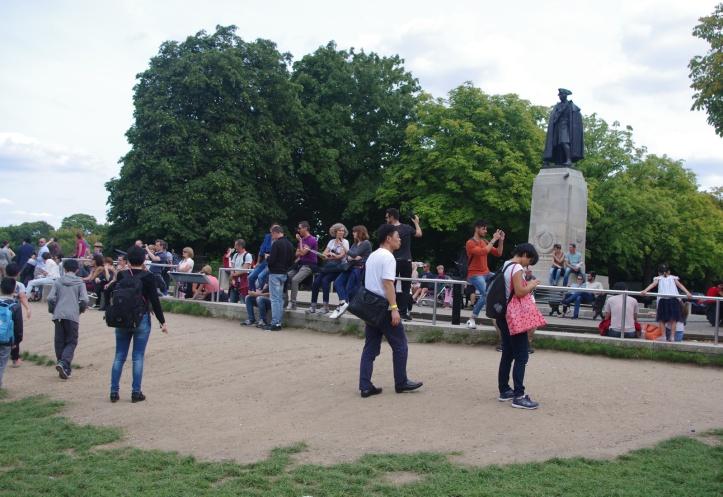Wolfe statue, Greenwich