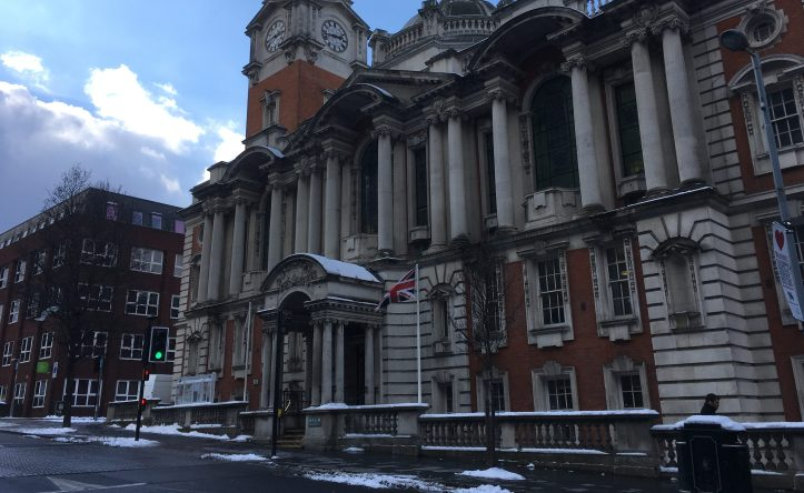 Woolwich Town Hall, 28 February 2017