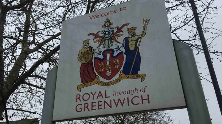 Greenwich Council sign